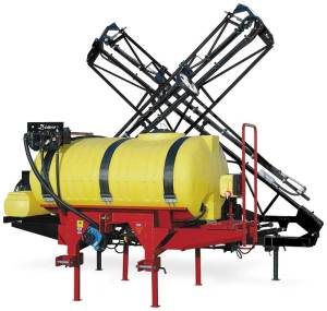 This is a Demco 3 pt sprayer available in 300, 400, 500 gal sizes , 45 or 60ft boom